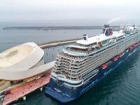 Leixões recebeu navio de cruzeiros de 315 metros