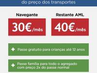 Medina propõe passe social a 40 euros para toda a AML