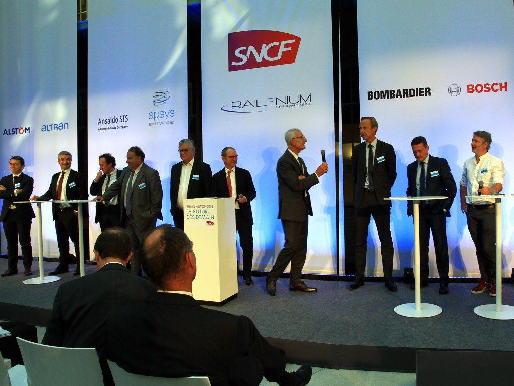 SNCF quer comboios autónomos de mercadorias e passageiros