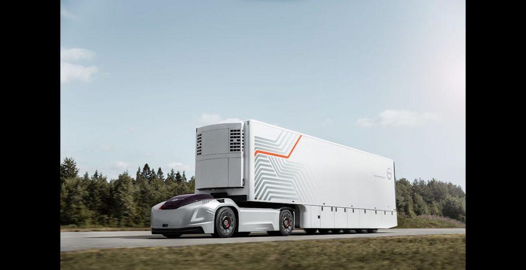 Volvo aposta em camiões autónomos eléctricos