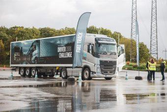 Português foi 18.º no Volvo Driver Challenge