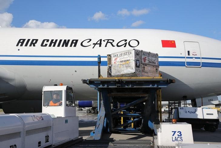 Air China vende 51% da Air China Cargo
