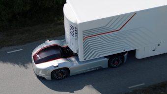 Volvo desenvolve camiões eléctricos autónomos (vídeo)