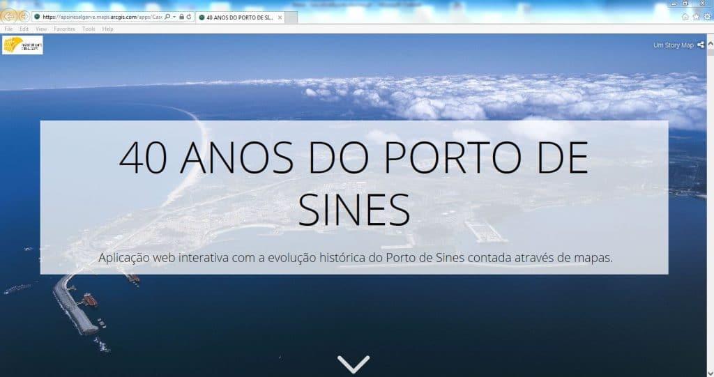 "APS disponibiliza ""StoryMap do Porto de Sines"" online"