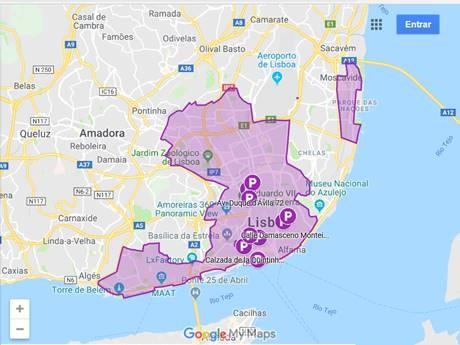 Lisboa cria estacionamento para carsharing
