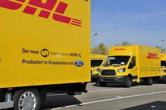 Ford produz furgão eléctrico para a DHL