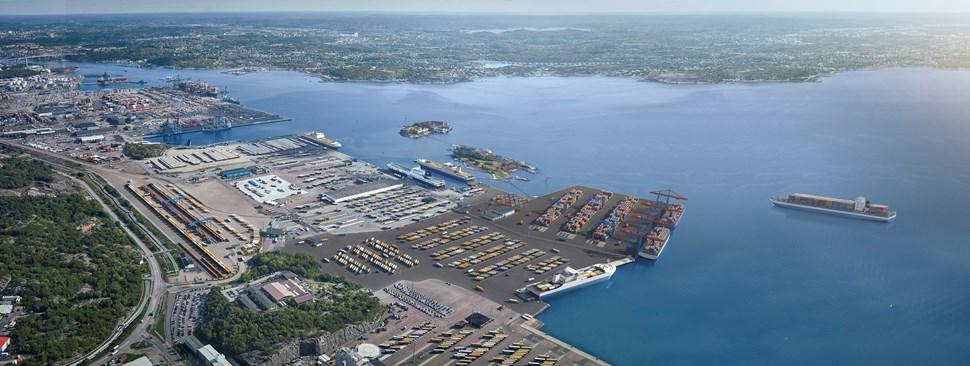 Porto de Gotemburgo terá novo terminal para o tráfego intra-europeu