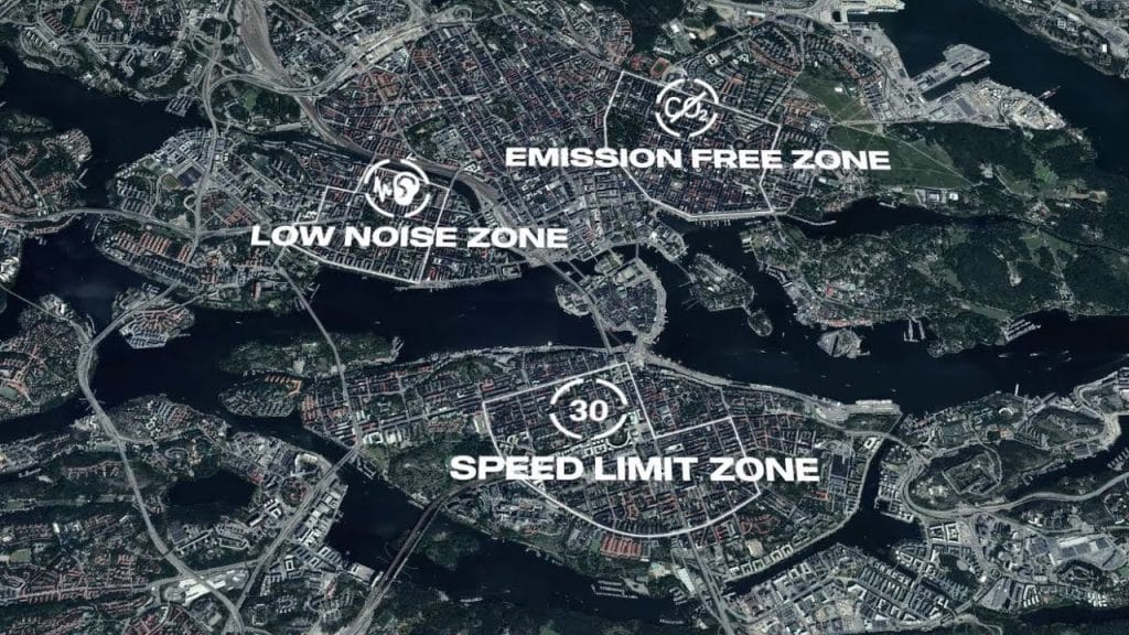 Scania Zone permite programar limites por zonas