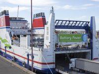 Stena Line testa navio híbrido a bateria