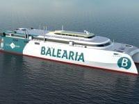 Baleària encomenda fast ferry ro-pax a GNL