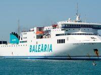 Baleària inicia reconversão para GNL de seis ferries