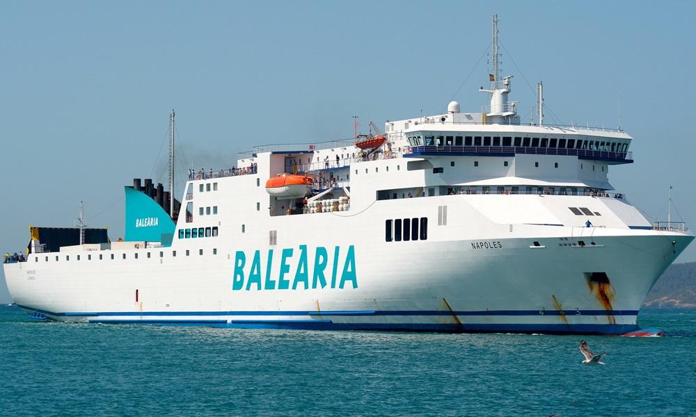 A Baleària opera 12 navios e tem quatro encomendados