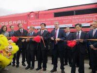 Comboio de mercadorias liga Liège à China
