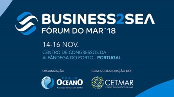 Business2Sea/Fórum do Mar realiza-se de 14 a 16 de Novembro