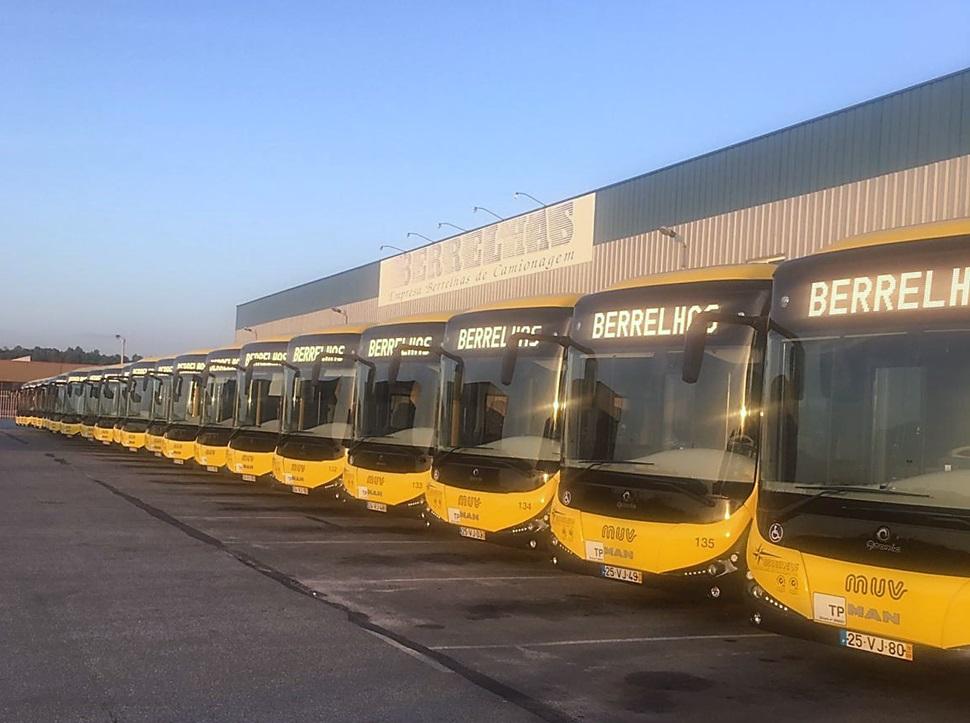 MAN reforça frota da MUV de Viseu com 24 autocarros