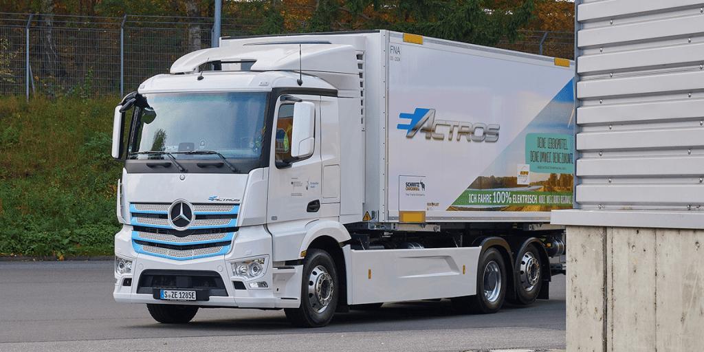 Mercedes eActros pode ser comercializado em 2021