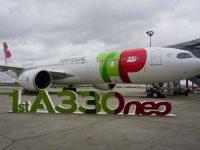TAP faz estreia mundial do A330neo