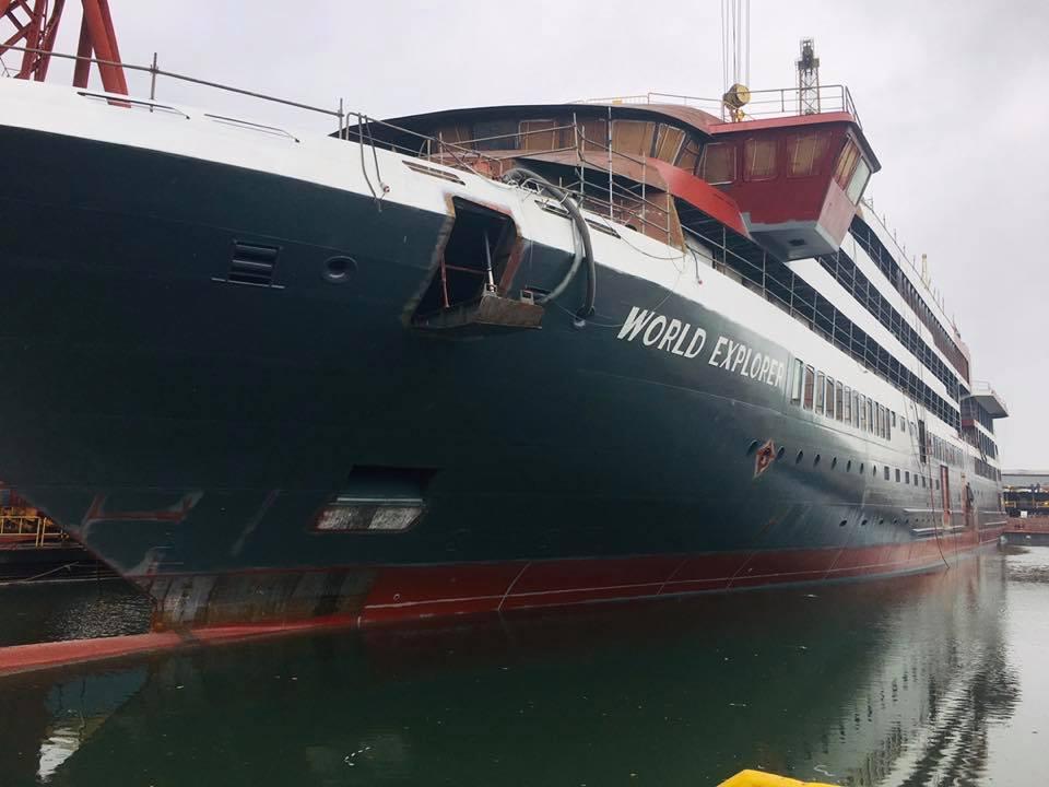WestSea não conseguiu entregar o World Explorer a tempo de rumar À Antárctida