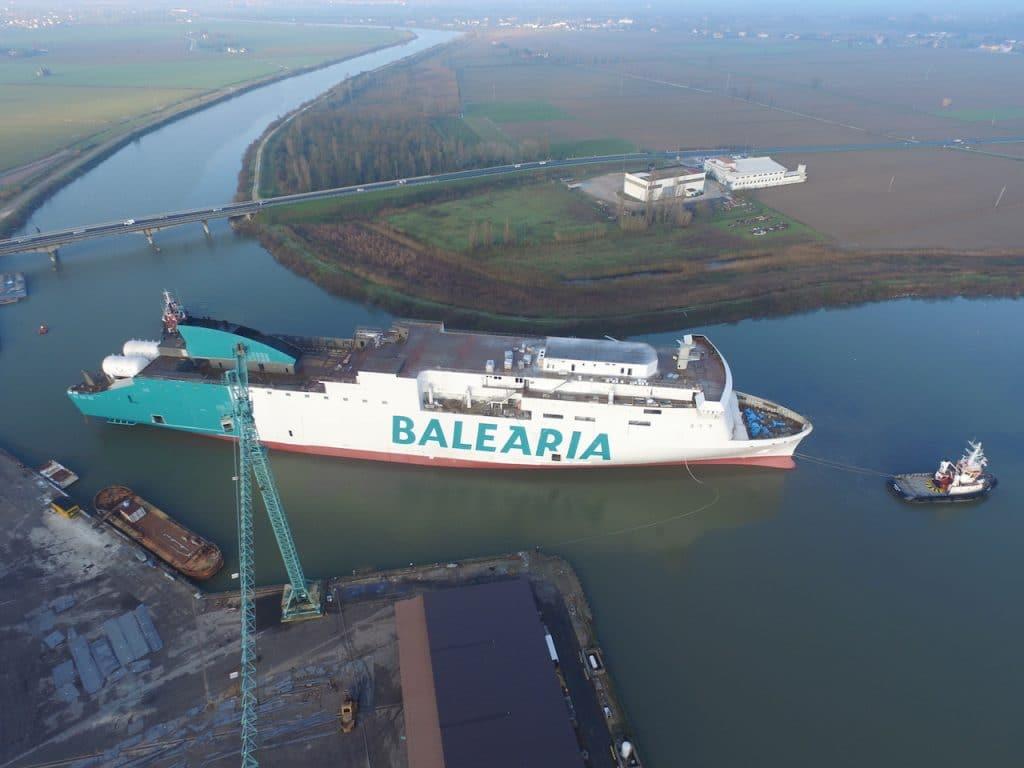 Baleària terá dois ferries a GNL no Mediterrâneo em 2019