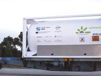 CORE LNGas Hive testou transporte multimodal de GNL