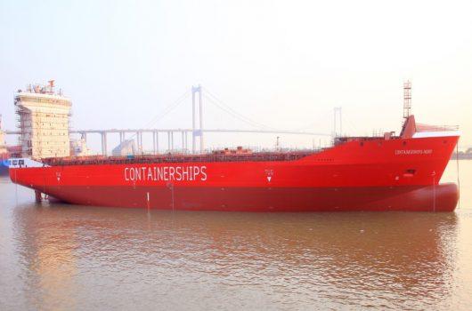 Containerships tem encomendados seis navios a GNL