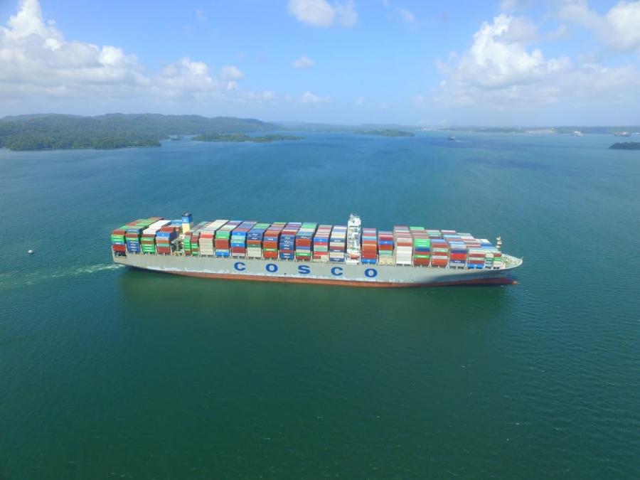 5 000 neo-panamaxes já passaram pelo Canal do Panamá