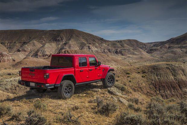 Jeep Gradiator chega à Europa em 2020