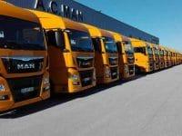 Vendas de camiões afundam em Novembro