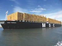Alphaliner: MSC aproxima-se da parceira Maersk