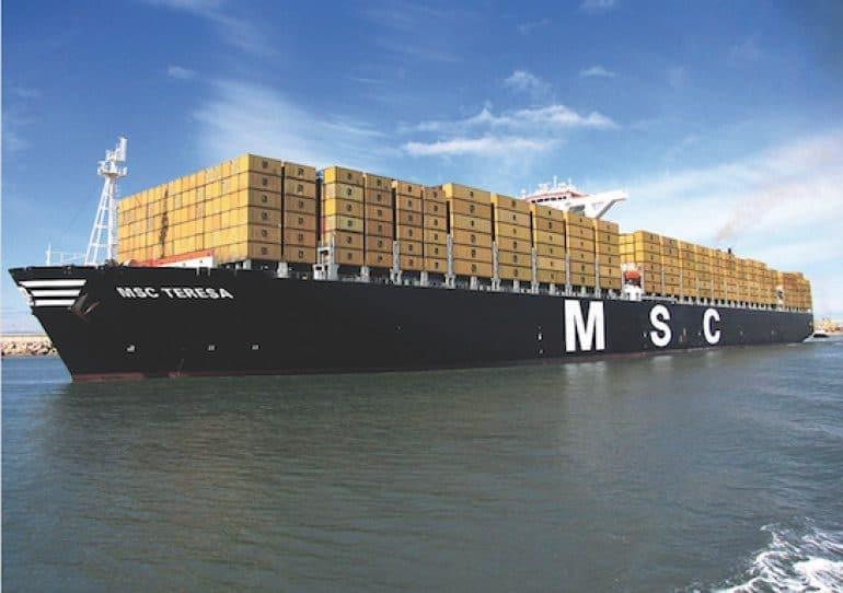 Maersk e MSC juntas têm uma oferta de 10 milhões de TEU