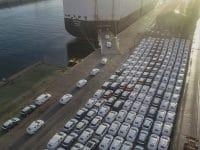 Leixões exportou veículos da Autoeuropa