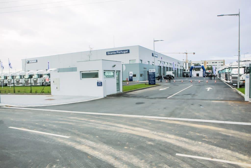 Scania mudou-se do Porto para a Maia