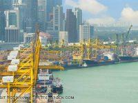 COSCO reforça parceria com a PSA Singapura