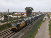Comboio da Autoeuropa chegou a Santander em 21 horas