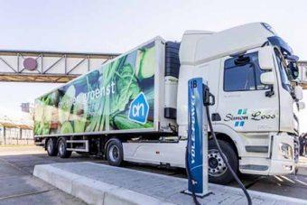 Supermercados testam DAF electrificados