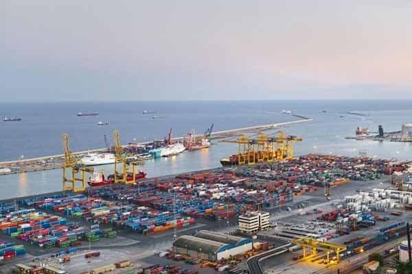 Portos espanhóis somam 326 milhões de toneladas até Julho
