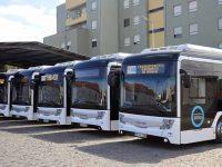 300 autocarros eléctricos e a gás em circulação