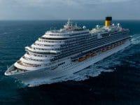 """Fincantieri entrega primeiro navio """"chinês"""" da Costa Cruises"""