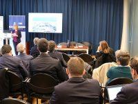 Coordenador do Corredor Atlântico em Leixões e no Douro