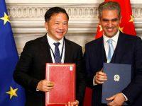 """Itália colabora com a China na """"Nova Rota da Seda"""""""