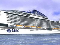 Lisboa recebe o mais novo navio da MSC Cruises