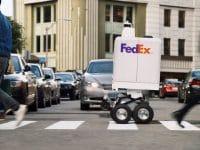 FedEx desenvolve robô para entregas urbanas