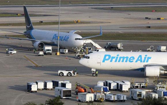 Actualmente a Amazon Air opera com 70 aviões