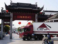 CEVA lança serviço TIR Espanha – China