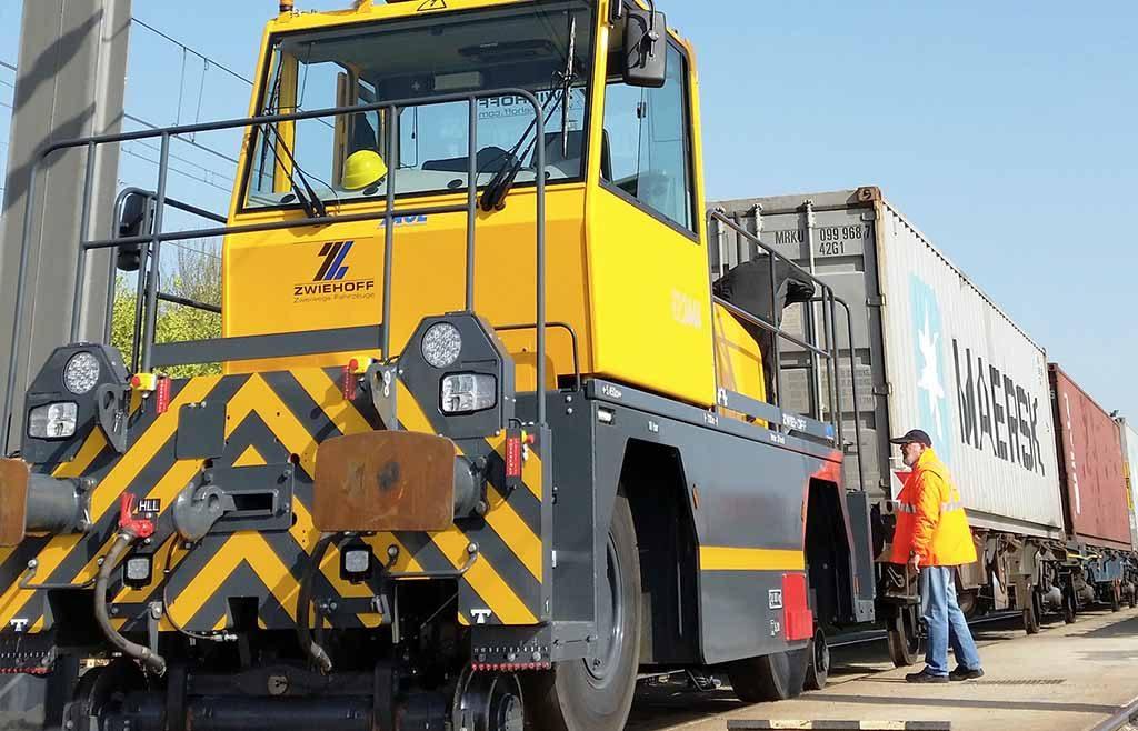 APM Terminals realizou 3000' comboios em Espanha em 2018