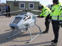 Dinamarca usa drone para medir enxofre