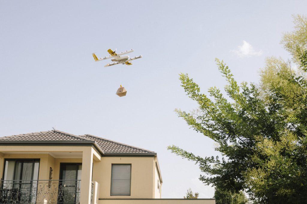 A Google já opera com drones na Austrália