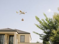 Google faz entregas por drone na Austrália