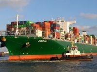 Canal do Panamá recebe porta-contentores de 20 filas