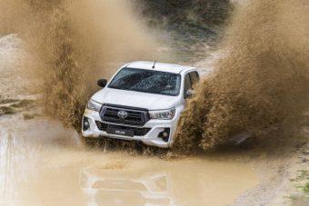 Toyota Hilux com nova edição topo de gama